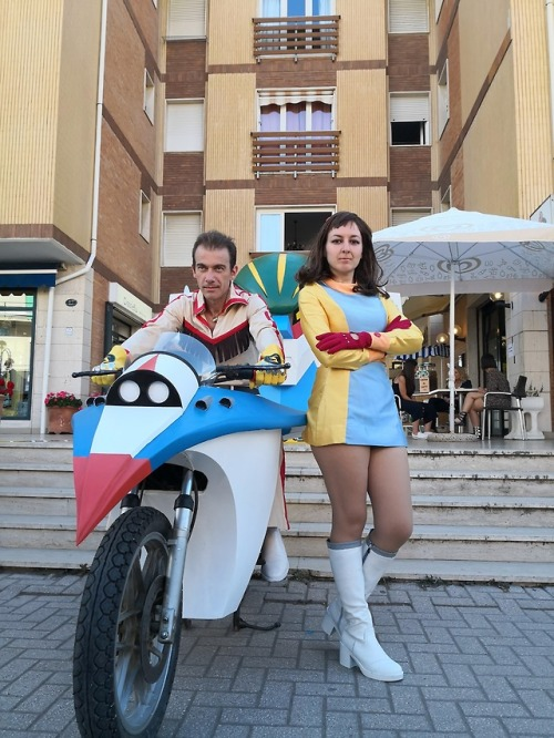Kotetsu Jeeg cosplay by Fabio Bonanomi e Saber Francy.