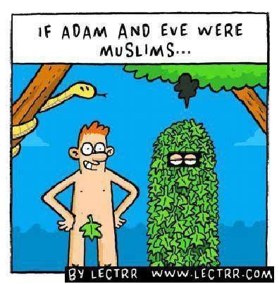 If Adam and Evere were muslimshttp://proud-atheist.tumblr.com