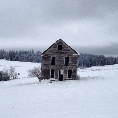 Old farmhouse.