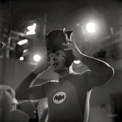Batman: 1966 | Shorpy Historical Photo Archive