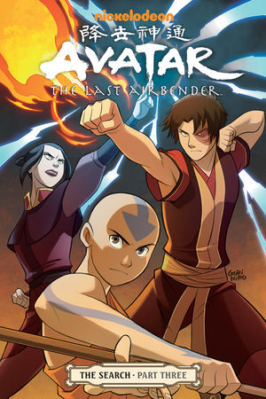 Avatar Aang travels to the spirit world to parley with an ancient power, bringing Fire Lord Zuko ever closer to discovering the truth about his mother's fate—and his own past. Yet Zuko's sister Azula is becoming increasingly dangerous, threatening to ruin everything that Zuko, Aang, Katara, and Sokka have struggled to achieve on their search! The GAang is back in action and will be on shelves October 30th! Let us know what you think! Any predictions? Source: [x]
