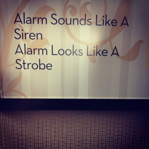 Alarm is a pompous dick who refers to himself in the third person
