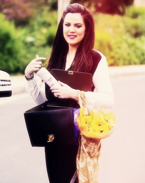 OMG @KhloeKardashian is perfect! <3