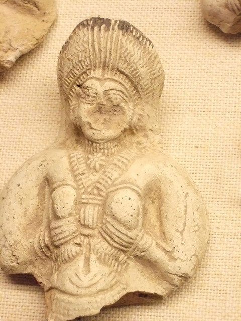 Fragments of Ishtar used as household goddesses Persia 1000 BCE by mharrsch on Flickr.