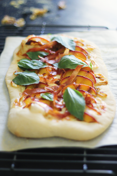 (via Grilled Peach Pizza | Say Yes to Hoboken)