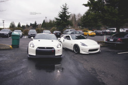 jdmlifestyle:  Amuse R35 & Amuse Z34 Photo By: Cullen Cheung
