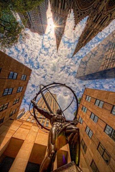 Rockefeller Center, NYC by Matt Pasant
