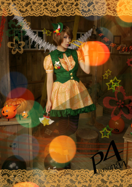 kya-games:  Persona 4 The Golden - Chie Satonaka (Halloween ver)