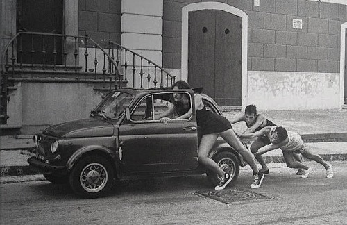 "Raffaele Celentano Piano ""Fiat 500"", Italy, Undated From The Italians"