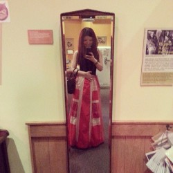 #Vintage #red #dress  (at Vancouver Maritime Museum)