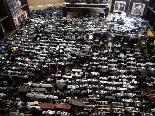 Start Your Own Camera Museum for $35,000 If you've got Gear Acquisition Syndrome and a couple thousand dollars to spare, you might be interested in placing a bid on this humongous camera lot on eBay. With over 2,000 cameras and accessories included, you could set up your own camera museum in no time!