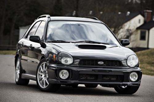 Such a clean bugeye WRX on STi BBS wheels.