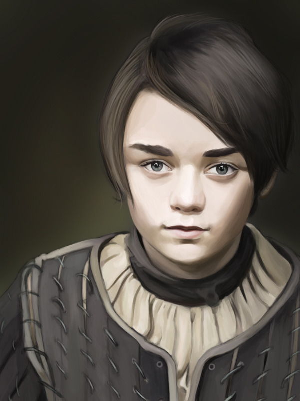 Still working on it. Arya Stark.