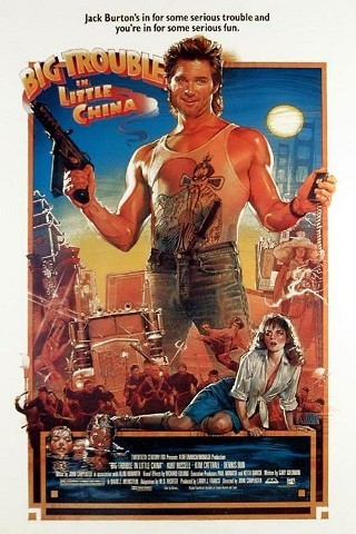 "I'm watching Big Trouble in Little China    ""Why is Kurt Russell doing a subtle John Wayne impression?""                      Check-in to               Big Trouble in Little China on GetGlue.com"