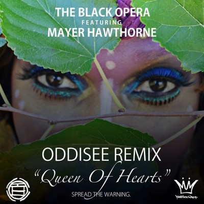 "NEW @Oddisee REMIX for ""Queen of Hearts"" ft @MayerHawthorne http://bit.ly/13id8PA  [Model: @reynadaswank Makeup/Photo by: Kensah]"