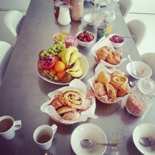 sleepy-dreamers:  If I could eat this everyday I would
