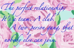 Lilly Pulitzer on the perfect relationship. Rest In Peace. You will be missed.