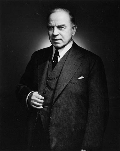 Sure, he looks a little dowdy. But this is William Lyon MacKenzie King, 10th Prime Minister of Canada and grandson of the rebel William Lyon MacKenzie, first mayor of Toronto & the leader of the Upper Canada Rebellion, which, very Canadianly, was little more than a bar brawl at Montgomery's Tavern. MacKenzie had his negative points - he rejected the MS St. Louis, a boatload of Jewish refugees from Germany, interned Canadian Japanese during WWII, and shoved Canada up America's ass during WWII, from which we have never really recovered. But he also appointed the 1st female senator in Canada, was essential in the creation of the cbc and asserted Canada's autonomy from Britain by building up our armed forces well before the beginning of WW2 by seeing what was coming. And the best part? He used Ouija boards to commune with his dead mother & his favourite dog to help him govern the country. Sure, it sounds crazy, but he's our longest-running Prime Minister and was voted #1 in a list of Greatest Canadian Prime Ministers. And he was probably gay.