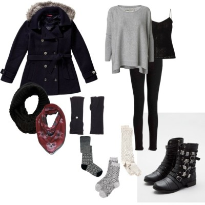 tomboyfemme:  my go-to winter outfit (via Tomboy Femme Winter Wear - Polyvore)      (via TumbleOn)