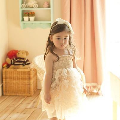 Dolly's Bubble Dress Cream  Shop Now > http://www.lepetittom.nl/products/pre-order-dolly-bubble-dress-cream