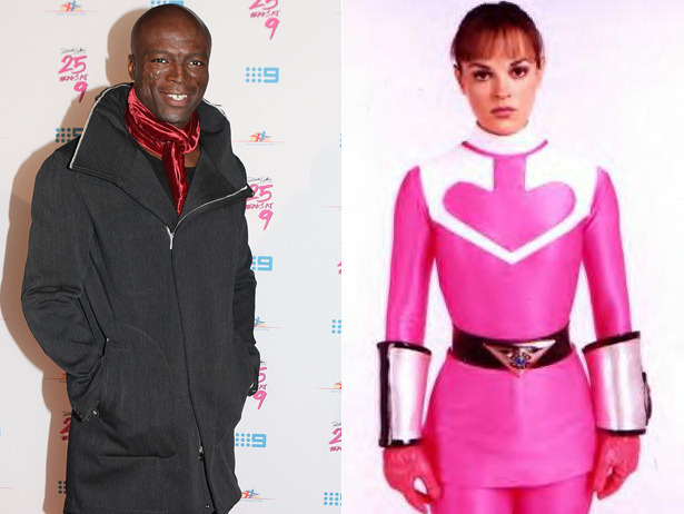 Seal is dating the Pink Power Ranger. We'll just add that to the list of our 20 Really Random Celebrity Couples.