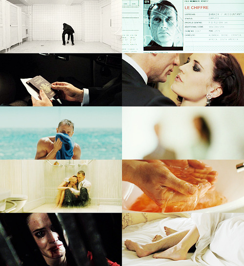 James Bond 007 - Casino Royale (2006) Vesper Lynd: It doesn't bother you? Killing all those people? James Bond: Well I wouldn't be very good at my job if it did.