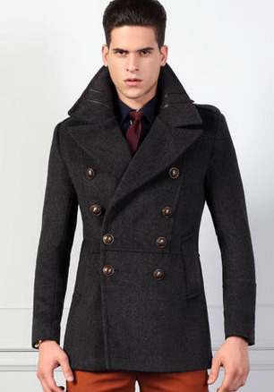 mens pea coats | Tumblr