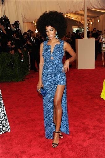 beyonceinfo:  Solange in Kenzo at the MET Gala