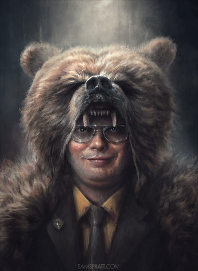 "samspratt:  ""Dwight Schrute: Bears, Beets, & Battlestar Galactica"" - by Sam Spratt"
