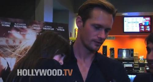ericandsookielovers:  Hollywood.TV Interviews Alexander Skarsgård! Where he reveals if the Eric's death rumor is true or false! Watch it here: View Post
