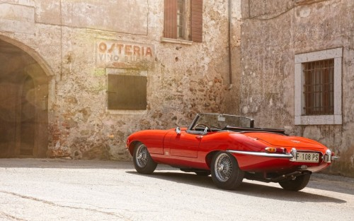 "Enzo Ferrari once called the Jaguar E-Type ""the most beautiful car ever made."""