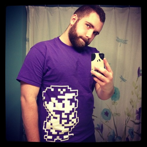 nightmarecub:  New shirt! NESS!!! #EarthBound Instagram = friendlynightmares