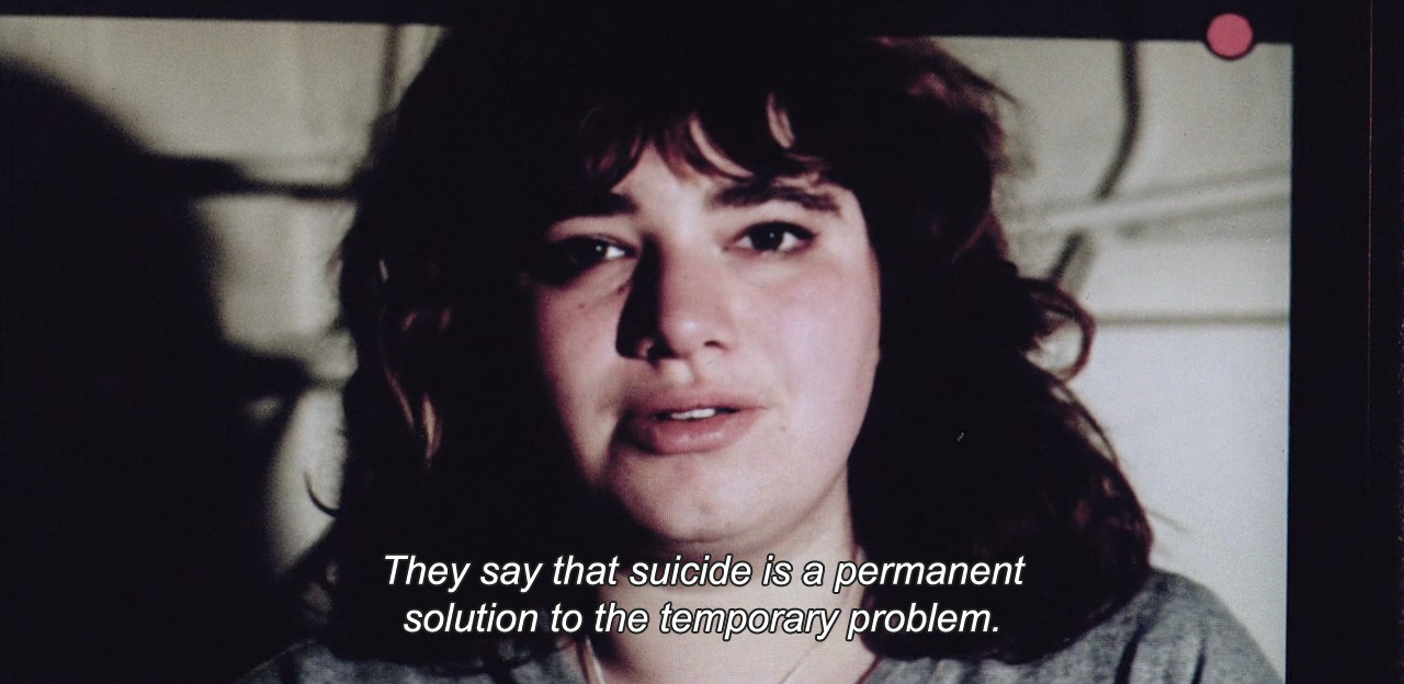 """They say that suicide is a permanent solution to the temporary problem."""
