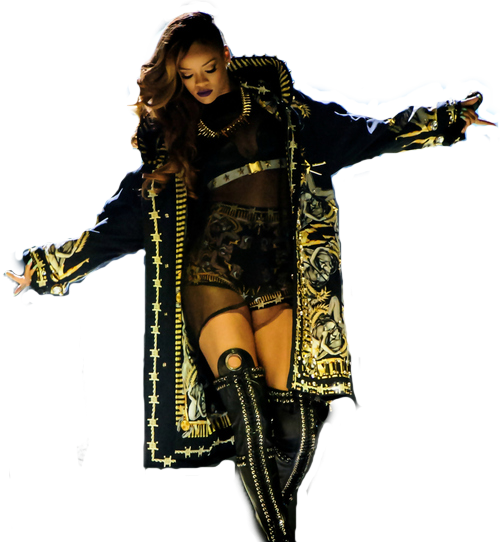 fierrrrrrce:  Rihanna transparent.. my edit