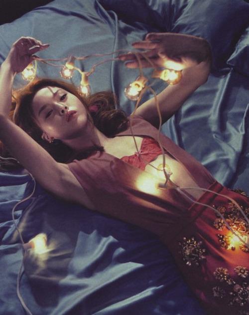 "Devon Aoki in ""My Forbidden Love"" photographed by Sebastian Kim for Numéro Tokyo #32, December 2009"