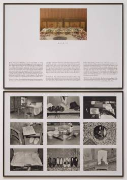 "chemicallights:  ""The Hotel, Room 28"" 1981 Sophie Calle 2 works on paper, photographs and ink"