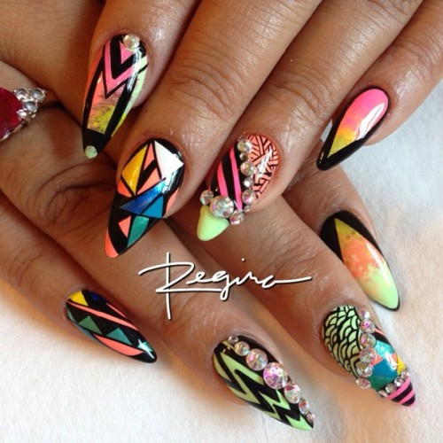 nailsbyregina:  All of the brights