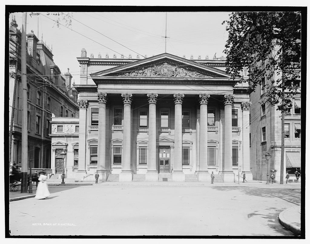 The Bank of Montreal, Montréal