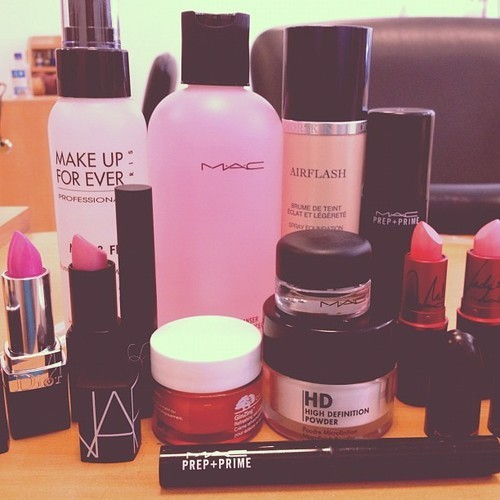One day I will have a makeup collection like this …. One day