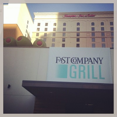 Fast Company Grill happy hour.