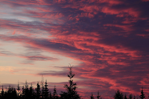 Solnedgang by bjarne.stokke on Flickr.