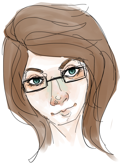 attempted to draw myself oops