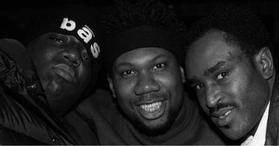 upnorthtrips:  Notorious B.I.G., KRS-One & Easy Moe Bee - Easy Mo Bee's Birthday (1995)
