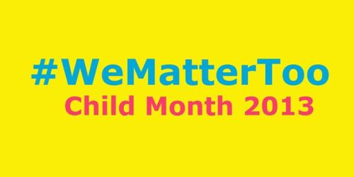 Child Month in JA #WeMatterTooMay is Child Month in Jamaica, which I wrote a bit aboutthe other day. In honour of Child Month,…View Post