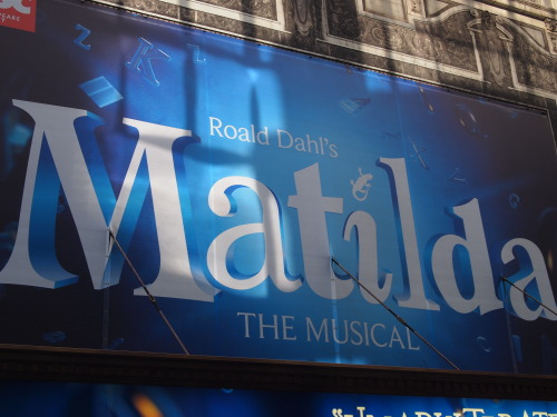 Scenes from Matilda the Musical I got the chance to peek around backstage just before showtime and it was pretty cool — a window into the dark childhood landscapes of Roald Dahl. The show's been one of the most highly-reviewed of the season. It's up for 12 Tony awards, including Best Musical — pitting it against Kinky Boots, which is also up for a slew of awards and was scored by Cyndi Lauper (a Queens native).  One award it won't claim at the Tonys is for Best Actress. The 4 girls who took turns playing Matilda were ruled ineligible for a joint award. Oddly enough, the 3 guys who played the lead role in Billy Elliot did win the best actor award in 2006.
