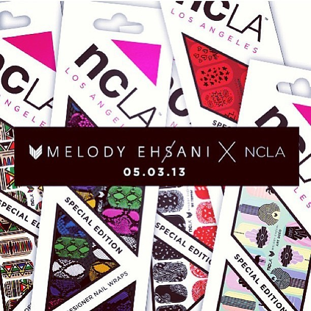New new dropping next week #melodyehsani #ncla #nailart