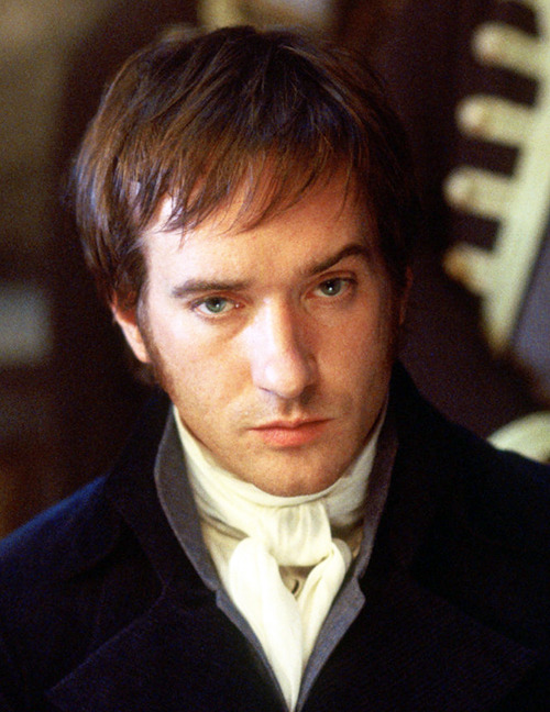 """Macfadyen's Darcy is wounded, boyish, broken. Stiff with inhibition, his face misshapen, his eyes eerie distant chips of light blue, he is magnificent. His sexuality is far more understated than Firth's, but no less powerful.""  (Press review)"