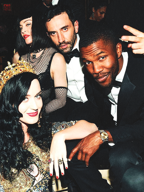 Madonna, Riccardo Tisci, Frank Ocean and Katy Perry @ Met Ball after party - 05.06.13
