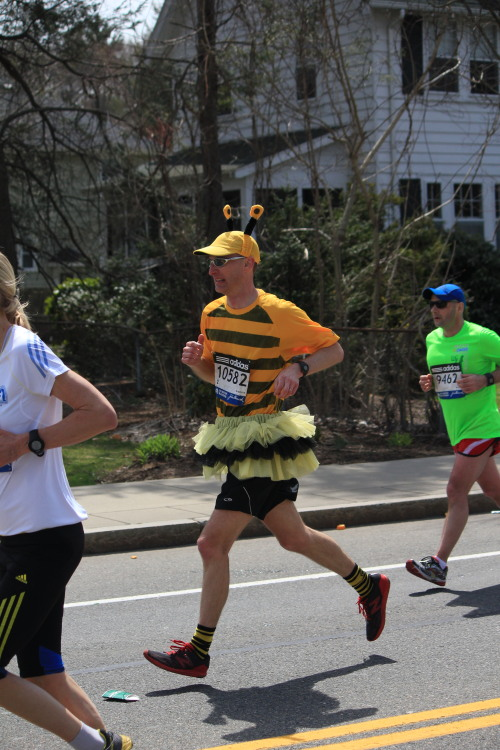 """Run, bee, run!"" (Boston Marathon) Massachusetts, 2013"