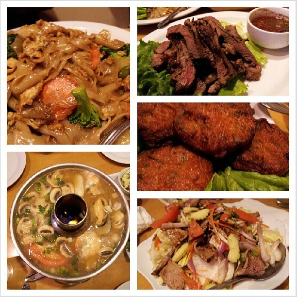 Dinner  (at Seven Seas Authentic Thai Cuisine)